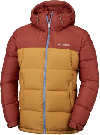 Columbia moška jakna Pike Lake Hooded, rjava, XL