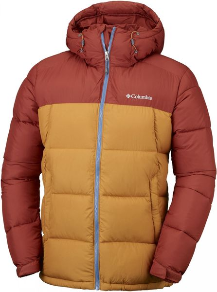 Columbia Pike Lake Hooded Jacket Rusty Canyon Gold S