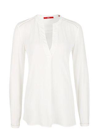 s.Oliver bluzka damska 34 kremowy