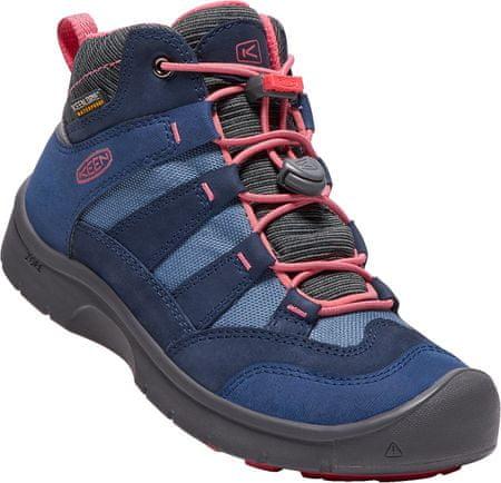 KEEN otroški čevlji Hikeport Mid, modra/roza, 32/33