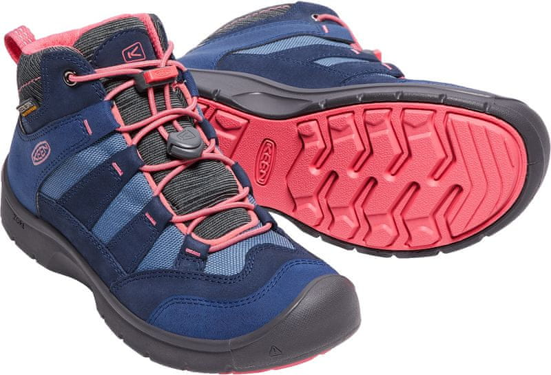 ... 6 - KEEN Hikeport Mid Wp Jr dress blues sugar coral US 2 (34 01215f860e