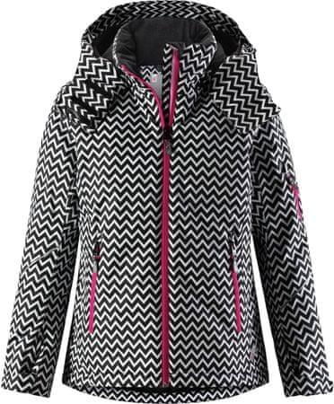 Reima otroška smučarska jakna Glow, črna, 128 cm