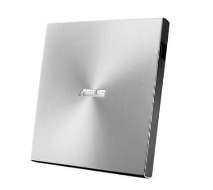 Asus zunanji zapisovalnik U9M 8X DVD, USB C/A, srebrn