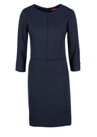s.Oliver dámské šaty 34 modrá