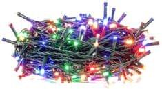 Retlux Vánoční řetěz 50LED časovač multicolor