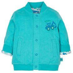 G-mini chlapecký oboustranný kabátek Bagr