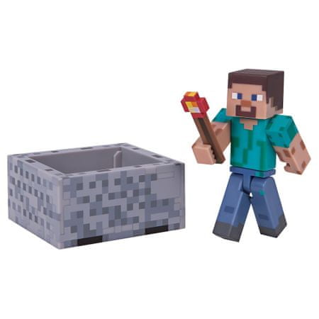 TM Toys Minecraft - Steve i akcesoria