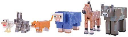 TM Toys Minecraft - Tame animal pack set sběratelských figurek