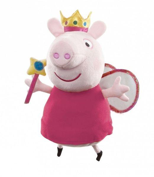 TM Toys Peppa Pig - plyšová princezna Peppa 35,5 cm