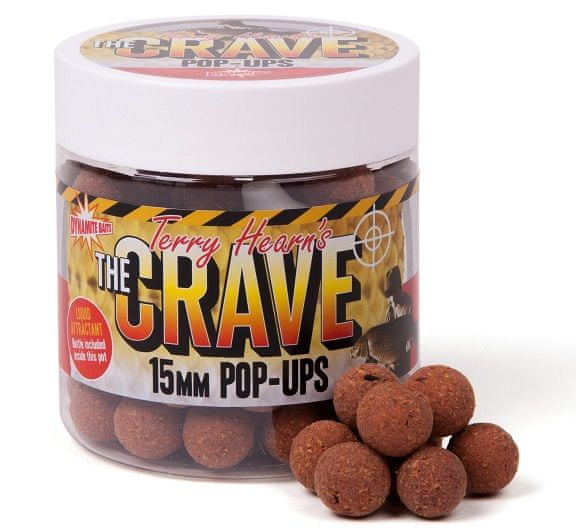 Dynamite Baits Plovoucí boilie Pop-Ups The Crave 15 mm
