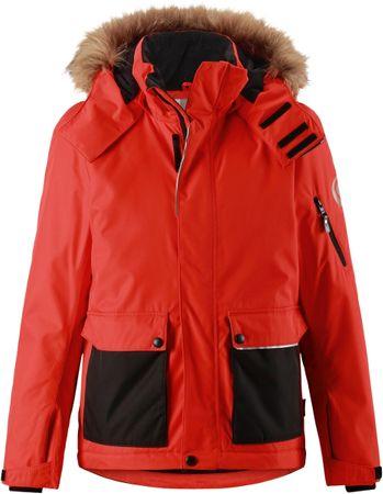 Reima otroška jakna Howler Flame, rdeča, 122 cm
