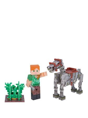 TM Toys Minecraft - Alex i Koń Szkieletor