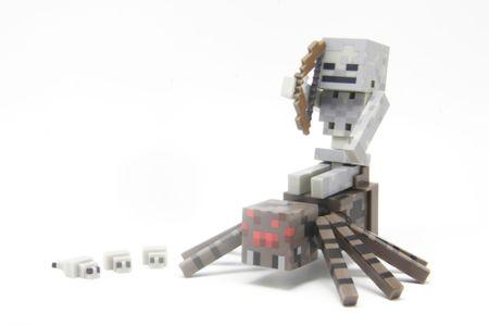 TM Toys Minecraft - Figurka Spider Jockey z akcesoriami
