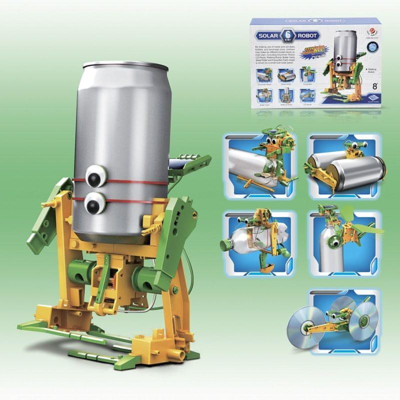 Alltoys Robot solarní 6 v 1