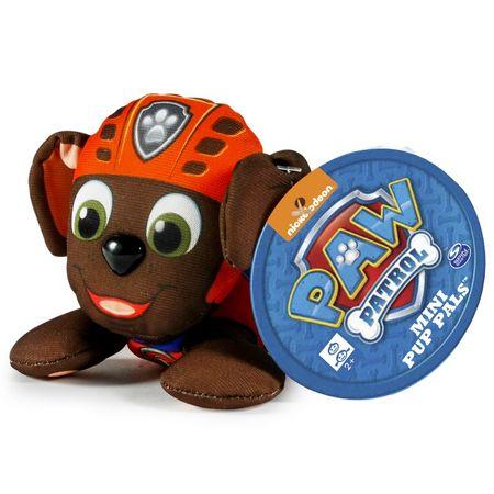 Spin Master Paw Patrol Plyšová postavička Zuma 10 cm oranžovo-hnědá