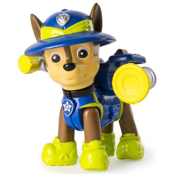 Spin Master Paw Patrol Figurka s příslušenstvím Chase modrá