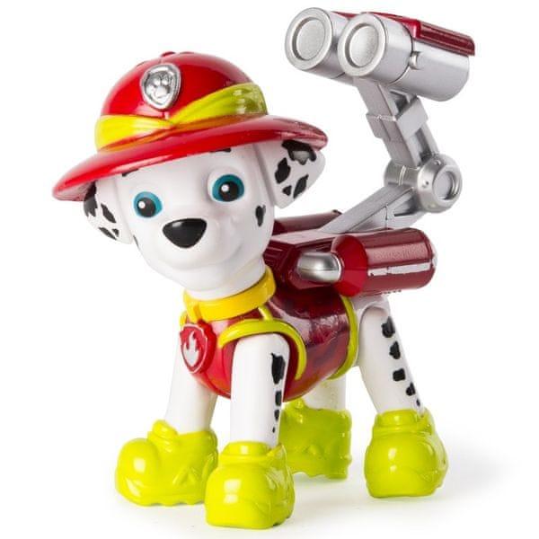 Spin Master Paw Patrol Figurka s příslušenstvím Marshall bílá