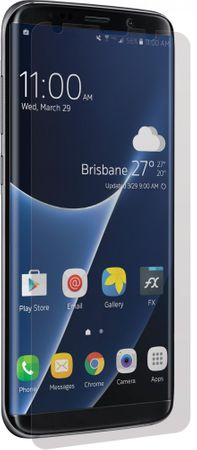 "3SIXT ""CurvedGlass zaslon"" zaščitno steklo za Samsung Galaxy S8 PLUS - GOLD"
