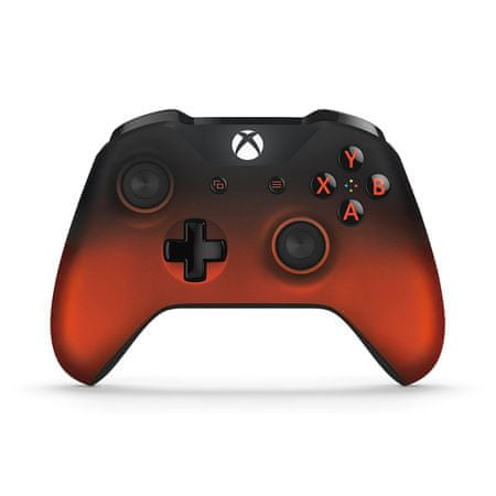 Microsoft Xbox One S Gamepad Volcano Shadow