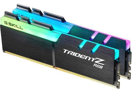 G.SKILL pomnilnik Trident Z RGB DDR4, 16GB Kit (2x 8GB), PC4-19200, 2400MHz, CL15 1,2V