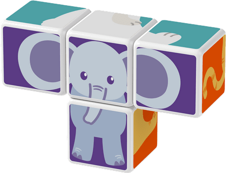 TM Toys Magicube - Zestaw Zwierzęta