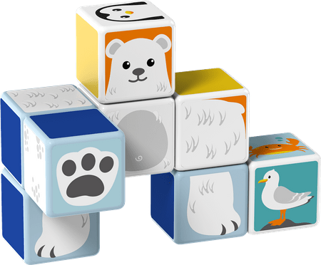 TM Toys Magicube - Sada polární zvířata