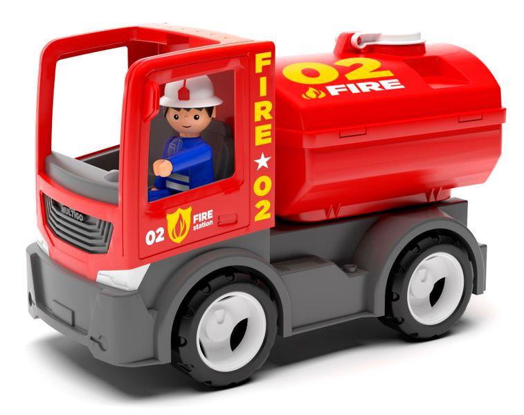Igráček MULTIGO FIRE – cisterna s hasičem