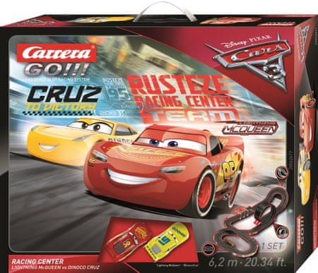CARRERA Autodráha GO 62417 Cars 3 - Racing Center