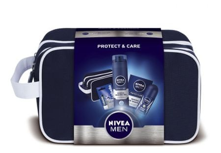 Nivea Men darilni set Protect & Care