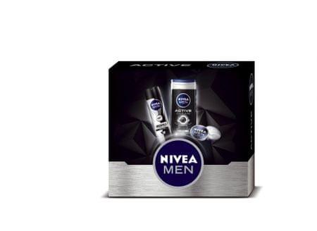 Nivea Men darilni set za aktivne moške