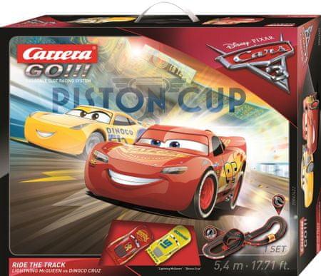 CARRERA Autodráha GO 62422 Cars 3 - Ride Track