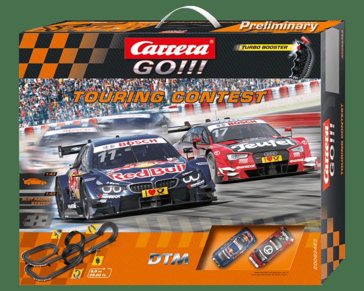 Carrera Autodráha GO 62423 Touring Contest
