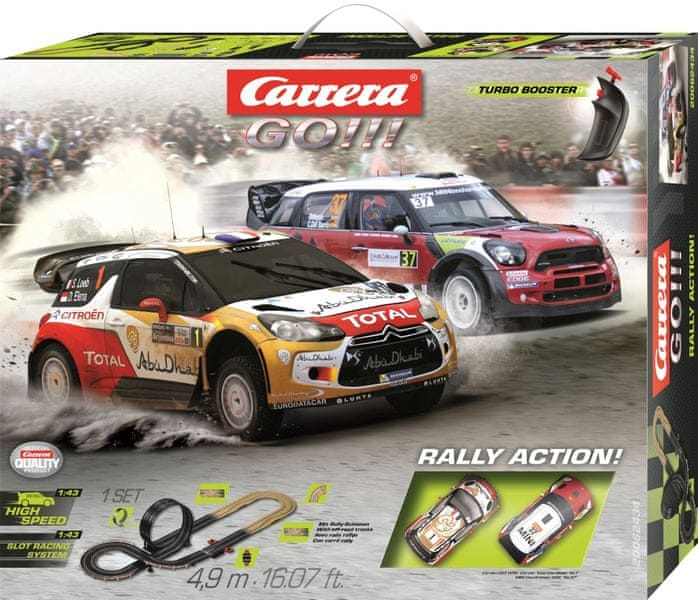 Carrera Autodráha GO 62434 Rally Action