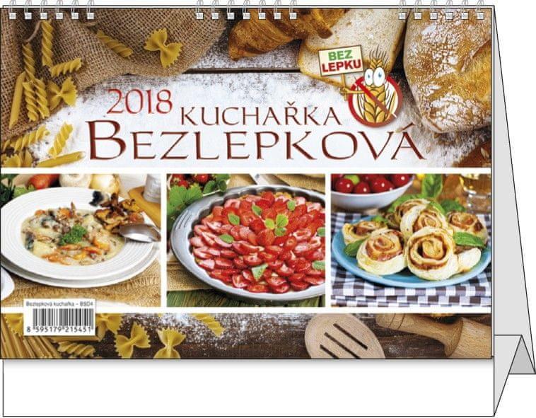 Kalendář stolní žánr. týdenní Bezlepková kuchařka
