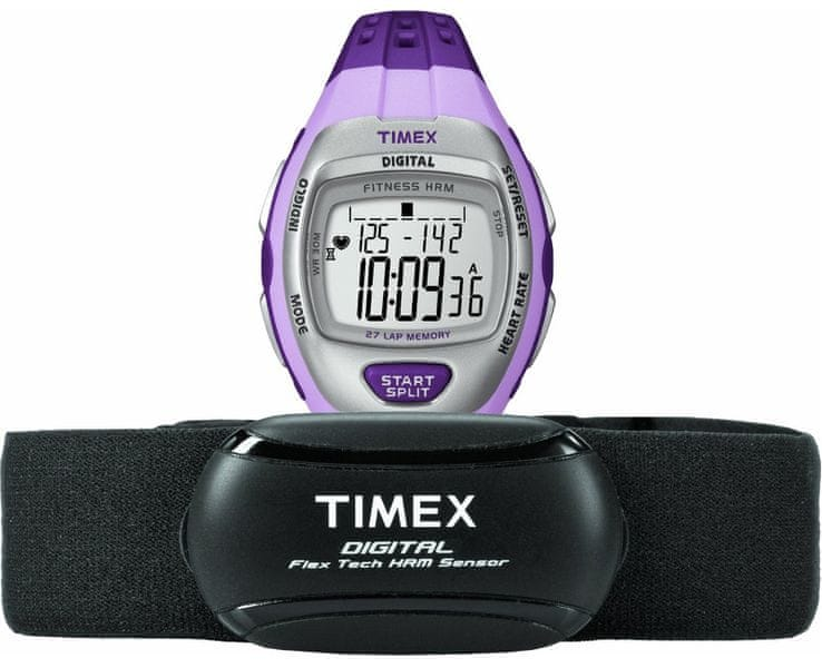 Timex Ironman ZONE TRAINER 27 Lap HRM T5K733