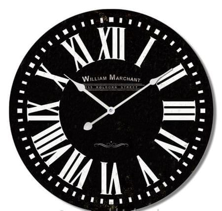 BR stenska ura, retro William, premer 60 cm