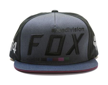 FOX moška kapa Draftr UNI črna