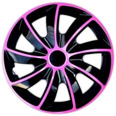 Versaco Poklice HIKARU Pink/Black sada 4 ks