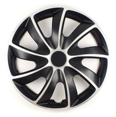 Versaco Puklice HIKARU Silver/Black sada 4 ks