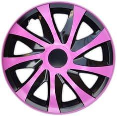 Versaco Poklice KORZO Pink/Black sada 4 ks
