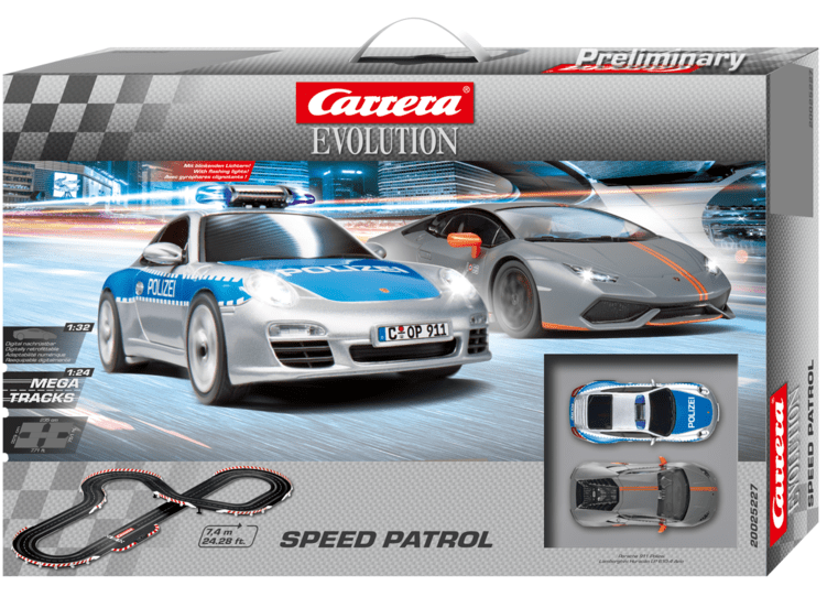 Carrera Autodráha EVO 25227 Speed Patrol