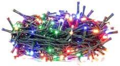 Retlux Karácsonyi fényfüzér, 200LED időzítő, multicolor