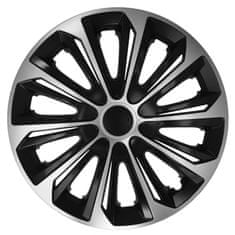 Versaco Puklice MAKO Silver/Black sada 4 ks