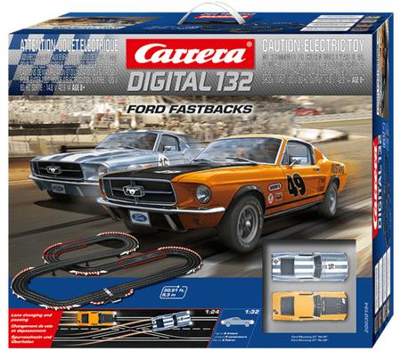 Carrera Autodráha D132 30194 Ford Fastbacks