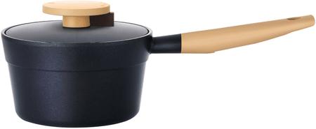 Lock&Lock mała patelnia 18 cm w kolorze czarnym
