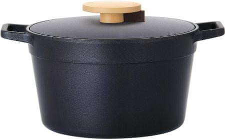 Lock&Lock Hrnec Minimal 24 cm černý