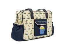 Pink Lining previjalna torba YUMMY MUMMY, Modre jadrnice