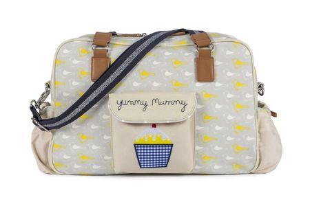 Pink Lining previjalna torba YUMMY MUMMY, Ptice