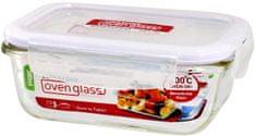 Lock&Lock pudełko na żywność ze szkła borokrzemianowego spożywczego 380ml