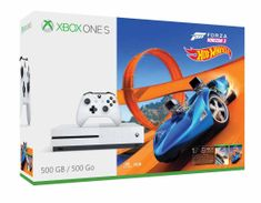 Microsoft igralna konzola Xbox One S 500GB + igra Forza Horizon 3 + Hot Wheels DLC